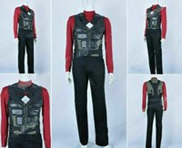 Wholesale high quality cosplay resale online - Blade Trinity Cosplay Wesley Snipes Costume Uniform Full Set High Quality Cool