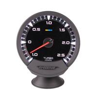 ingrosso stimola il sensore-Calibro auto universale GReddy Sirius Meter Series Trust 60mm 7 colori Turbo Boost Meter Sensore elettronico Boost