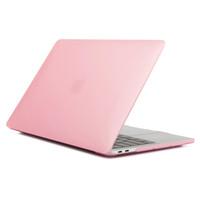estuche de macbook al por mayor-Caso para el aire de MacBook Pro 11 12 13 pulgadas duro recubierto de goma mate Anverso cuerpo completo caja del ordenador portátil cubierta de Shell A1369 A1466 A1708 A1278 A1465