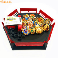 Wholesale gold beyblade toys for sale - Gold style Beyblade Burst Toys With Launcher Starter and Arena Bayblade Metal Fusion God Spinning Top Bey Blade Blades Toys