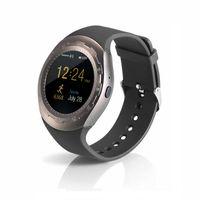 mobiltelefone bewertet großhandel-Y1M A7 Smart-Uhren mit SIM-Karte Telefonanruf Herzfrequenz Schrittzähler Schlaf Monitor Bluetooth Musiknachrichtenerinnerung für Android und iOS Mobile