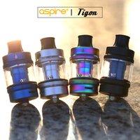 elektronischer zigarettenzerstäuber 3.5ml großhandel-100% authentischer Aspire Tigon MTL / DTL Vape-Zerstäuber für elektronische Zigaretten Tigon Vape Kit Großhandel von Skey