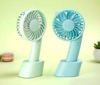climatiseurs vente achat en gros de-Vente chaude Coloré Refroidisseur Ventilateur Climatiseur Portable De Poche Mini Ventilateur Rechargeable Ventilateur En Plein Air Travail Voyage Sport Petits Ventilateurs