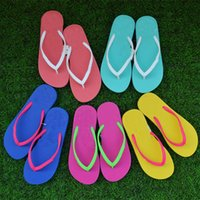 Wholesale girls slipper for home for sale - Group buy Girls Pink Love Flip Flops Candy Colors Beach Pools Slippers Shoes For Women Casual PVC Home Bathroom Sandals Gifts HH7