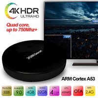 Wholesale smart tv android set online - Android tv box X88 Smart tv box android9 high speed g wifi g g k h rockchip rk3328 android iptv set box