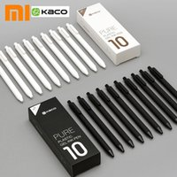 Wholesale plastic ballpoint pen refills for sale - Group buy Original Mijia Kaco Pen mm MI Kaco Ballpoint pen Core Durable Signing Refill Black Ink Refills