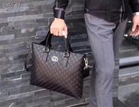calzoncillos de hombre marrón al por mayor-Diseñador bolsos de lujo monederos Diseñador bolsos de lujo de calidad AAA hombres de la moda clásico negro para hombre maletín de alta capacidad de la venta caliente Nuevo
