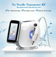 Wholesale gun face for sale - Group buy Newest in EMS Needle free mesotherapy injection facial lifing beauty RF mesotherapy gun facial machine Beauty Equipment DHL Free Ship