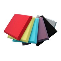 Wholesale soundproofing foam for sale - Group buy Sound Absorbing Soundproofing Foam Home Studio Acoustic Sound Treatment Absorption Wedge Tile Polyurethane Foam
