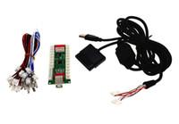 аркадный кодер оптовых-Zero Delay Arcade контроллер для ПК PS 2 PS 3 3IN 1 Энкодер ПК на джойстик Панель управления для MAME