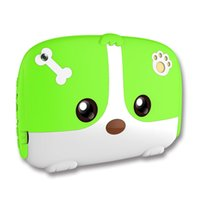 Wholesale 7inch Kids Tablet PC Quad Core GB Android Dual Cameras Wifi Google Player Children Pad Q718 Gift Cute cartoon Dog