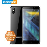 Wholesale new mtk phones resale online - 2018 New DOOGEE X50 mobile phone Android Go MTK6580M Quad Core GB RAM GB ROM Dual Cameras inch mAh Dual SIM Smartphone