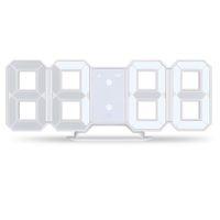 casas de exibição moderna venda por atacado-3D LED Relógio de Parede Moderno Despertador Digital de Exibição de Mesa de Escritório Cozinha de Casa Mesa de Noite Da Parede 24 Ou 12 Horas de exibição
