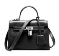 Wholesale small hand bags for ladies for sale - Group buy New Fashion Genuine Leather Shoulder Bag For Women Luxury Female Crossbody Bag Exquisite Ladies Hand Bags
