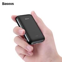 небольшой мини-блок питания оптовых-10000mAh Mini Power Bank Маленький 2 USB Портативное зарядное устройство 10000 mAh Powerbank Для iPhone Внешняя батарея Powerbank мобильный телефон