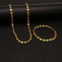 gold trend armbänder großhandel-Europäische und amerikanische Hip-Hop-Männer Edelstahl Schwein Nase Armband Kaffeebohnen Armband Vakuum Beschichtung Trend Schmuck