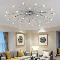 Wholesale crystal light shades for sale - Group buy Modern Ceiling led crystal Lights Shade lamparas de techo Light Ceiling Metal Ceiling Lamps Bedroom lights
