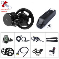 Wholesale bafang motor resale online - 48V W Bafang BBS02 BBS02B Mid Drive Motor Electric Bike Conversion Kit V Ah Bike Battery with Charger Built in Samsung Cells