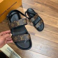 marcas de importação venda por atacado-229ss Marca designer profissional sandálias do amante do projeto, tecidos de couro importado, confortável qualidade, 38-45 metros