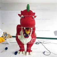 Wholesale inflatable dragons for sale – halloween city parade inflatable walking dragon outdoors performance dinosaur costume inflatable promotional inflatable walking dragon costume