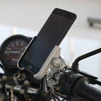подставка для iphone для велосипедов оптовых-Полный держатель мобильного телефона алюминиевого сплава стоит для велосипеда мотоцикл металлический горный велосипед дорожный велосипед телефон держатель для автомобиля iphone