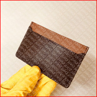 Wholesale ladies cell phone pouch resale online - NEO PORTE CARTES N62666 Designer Fashion Mens Wallet Key Credit Coin Card Holder Case Pocket Organizer Key Pouch Pochette Cle Double