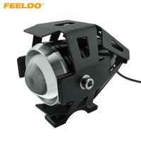 ingrosso faro del trasformatore-FEELDO Moto impermeabile 125W U5 3000LM Motorbike Transformer Driving Spot Lampada frontale Fendinebbia # 2095
