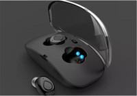 3d inteligente venda por atacado-X18s X18 TWS Sem Fio Fone de Ouvido Bluetooth Estéreo 3D Fone de Ouvido Hands-free Inteligente de Redução de Ruído Bluetooth4.2 fone de Ouvido Com carregador de caixa