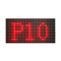 módulo de exibição led ao ar livre venda por atacado-Frete grátis ao ar livre p10 smd cor vermelha módulo de sinal de rolagem levou 320 * 160mm para exibição de mensagem LED