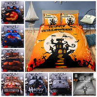 Wholesale 3d bedding sets luxury duvet for sale - Group buy Halloween Series Bedding Set King Size Fashionable D Duvet Cover Luxury Queen Twin Full Single Double Soft Comfortable Bed Cover