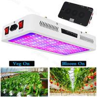 цветение привело свет оптовых-Led Grow Light Двойной чип-переключатель 1000W 1200W 1500W 2000W VEG BLOOM Для покрытых растений Расти Палатка Зеленые дома Лампа для растений Гидропонные системы DHL