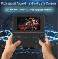 android tv de poche achat en gros de-Ordinateur de poche pour ordinateur de jeu portable GPD XD Plus 5 pouces Android 7.0 Mini console de jeu 4 Go / 32 Go PC tablette 1pcs