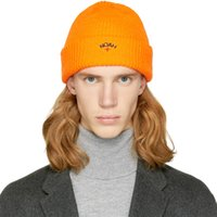 ingrosso beanie nere rosa-Sup Winter Warm Knitted Hat, Uomo Skull Cap Soft Stetch Cable Brand Berretti Cappelli, Donna Woolen Pom Pom Knitted NY Pink Black Caps