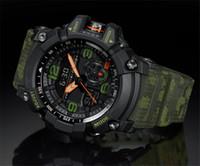 bracelet d'escalade achat en gros de-2018 Dropshipping Mens Nouveau G Style Montre Multifonction Choc Montres Escalade Horloge De Plongée LED Sport En Plein Air Hommes Montre-Bracelet Bracelet Horloge