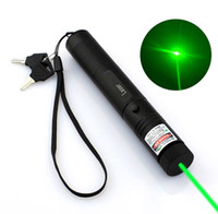 Wholesale mile green laser pointer resale online - 10 Mile High Quality Green Laser Pointer Pen Astronomy nm Lazer Pointer Visible Beam Cat Pet Laser Pointe Toy