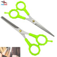 Wholesale brands hair cutting shears resale online - scissor fabric FINDKING brand high quality X Professional Hair Scissors Set Barber Hair Cutting Thinning Shears also child scissor