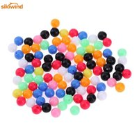 Wholesale baits for fish for sale - Group buy Sikiwind Round Mixed Color PE Plastic Stopper Beads for Carp Fishing Rig Fishing Beads Fishing Lures Tackle Accessories