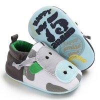 tierstiefel großhandel-Baby Mädchen weiche Booties Schnee Cartoon Tier Boden Schuhe Prewalker Warm Schuhe Mädchen Turnschuhe mit Plattformen