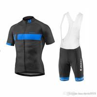 pantalones cortos de ciclismo gigante al por mayor-Giant Bicicletas Real 2018 Men team Cycling jersey Quick Dry bib shorts conjunto Ropa Ciclismo ropa de bicicleta estilo de verano MTB Bike ropa