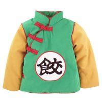 Wholesale anime toddler resale online - Baby Boys Goku Winter Jacket kids Dragon Ball Z Coat Toddler Cosplay Christmas Warm Outwear Halloween Anime CostumeMX190912