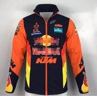 ingrosso vestito antivento dell'esercito-2019 nuova MotoGP KTM versione del driver maglione off-road tuta moto a cavallo antivento giacca Dakar corsa più cotone del vestito locomotiva