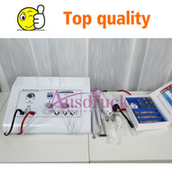 Wholesale high frequency galvanic machine for sale - Group buy Arrival High Frequency Galvanic Machine Diamond Microdermabrasion Dermabrasion Peeling Skin Facial Care Device