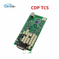 vci bluetooth оптовых-С картонной коробкой Зеленые реле Одноплатный PCB новый VCI Bluetooth версии R3 на CD TCS CDP PRO корабль бесплатно