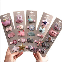 Wholesale tiara hairclip for sale - Group buy 5pcs New Cute Flower Princess Hairpin Kids Girls Hair Clips Bows Barrette Accessories for Children Hairclip Headdress Hairgrips