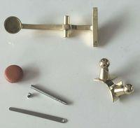 parafuso de saxofone venda por atacado-10set-barítono-saxofone-neck-chaves-haste-parafuso-flet-spring-pad