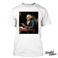 ingrosso amanti dell'amore-Franklin I Love USA Storia Maestro America Philadelphia maglietta 2019 caldo di vendita 100% cotone Maglia T Tee