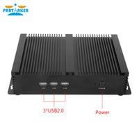 Wholesale 2 COM Industrial Rugged Mini PC Server with Intel Core i3 U Processor USB3 Wifi M