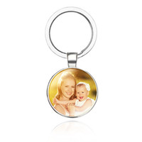 Wholesale keys custom for sale - Group buy Personalized Photo keychain Custom Key Chain Photo of Your Baby Child Mom Dad Grandparent Loved One Gift for Family Gift