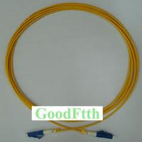 cabos de fibra lc venda por atacado-Cabo de ligação em ponte do cabo de remendo da fibra óptica LC / UPC-LC / UPC Simplex 3mm GoodFtth da manutenção programada de LC-LC UPC