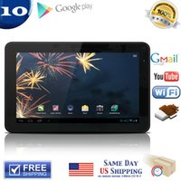 Wholesale tablet dual hdmi for sale - Group buy factory quot Android Tablet PC Dual Core Allwinner A20 GHz G G Capacitive Touch Scree HDMI Wifi Webcam